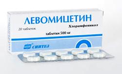 Левомицетин: от чего используют