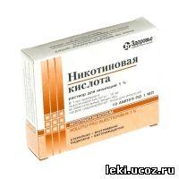 Никотиновая кислота: от чего используют